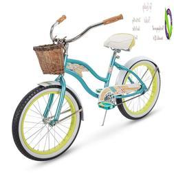 Huffy Panama Jack Beach Cruiser Bike W/ Lightweight Aluminum