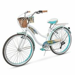 Huffy Panama Jack Beach Cruiser Bike 26 inch 6-Speed, Lightw