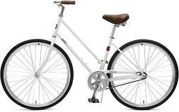 Retrospec Critical Cycles Parker Step-Thru City Bike with Co