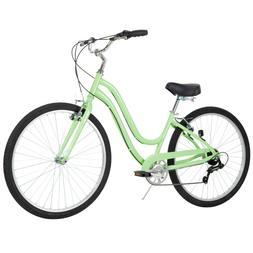 27.5 Huffy Womens' Parkside 7 Speed Bike, Mint