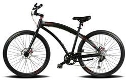 Hybrid Cruiser Bicycle MTB Bike Shimano Disc Brakes 700C Con