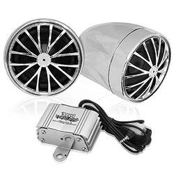 Pyle 400 Watt Weatherproof Motorcycle Speaker and Amplifier