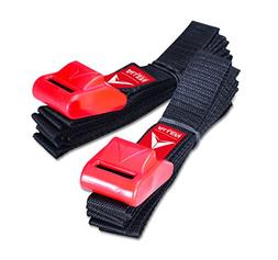 Allen Sports 8 Ft Polyester Cargo Straps - UV, Corrosion, Wa