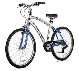 Northwoods Pomona Men's Dual Suspension Comfort Bike, 26-Inc