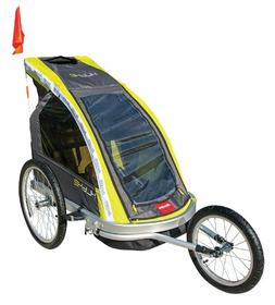 Allen Sports Premier 2-Child Aluminum Bike Trailer/Racing St