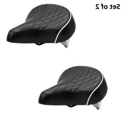 quilted wide cruiser saddle