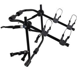 2-Bike Rack Trunk Mount - Deluxe Bicycle Carrier for most Se