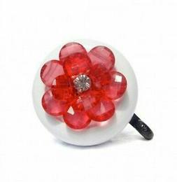 Cruiser Candy Red Flower Bell