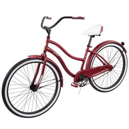 "Retro Beach Huffy 26"" Women's/Girls Cruiser Bike with Perfec"