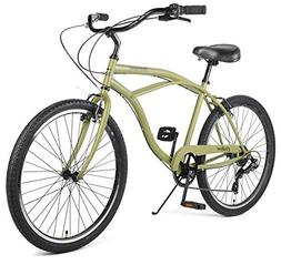 Retrospec Chatham Men's Beach Cruiser, Seven Speed, Matte Mi