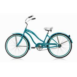"Micargi ROVER-GX-F-TRO 26"" Women's Beach Cruiser Bicycle Bik"