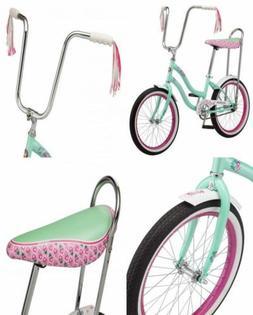 """Schwinn S2367B Mist Girls Polo Bike, 20"""" Wheels, Mint, wheel"""