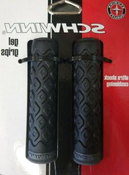 NEW Schwinn Gel Comfort Grips Bike Bicycle Handlebar Black S