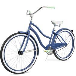 "SHIPS FAST! Huffy 26"" Cranbrook Women's Comfort Cruiser Bike"