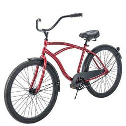 Huffy Single Speed Mens Bike Cruiser Handlebar Padded Saddle