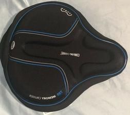 Bell Sports Coosh 750 Memory Foam Cruiser Bike Seat Pad, Bla