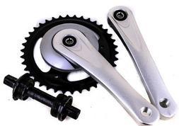Prowheel Square Taper Single Speed Cruiser Bike Crankset 170