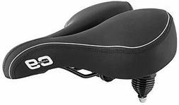 Sunlite Cloud-9, Bicycle Suspension Cruiser Saddle, Cruiser