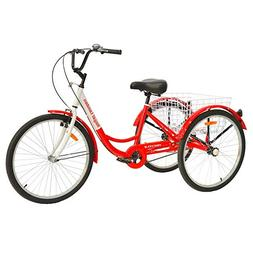 Royal London Adult Tricycle 3 Wheeled Trike Bicycle w/Wire S