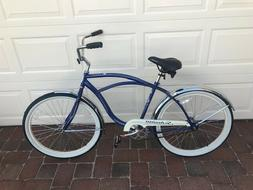 Schwinn - Unisex - Beach Cruiser Bicycle - Blue - New - Full