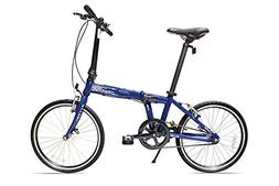 Allen Sports Urban Aluminum 1 Speed Folding Bicycle, Navy, 1