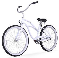 "Firmstrong Urban Lady Alloy Women's 26"" Beach Cruiser Bike w"