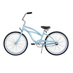 "Beachbikes Girl's Urban Lady 24"" Beach Cruiser Bike"