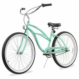 Firmstrong Urban Lady Three Speed Beach Cruiser Bicycle, 26-