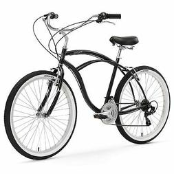 "Firmstrong Urban Man 24"" Single Speed,  Black - Men's 24"" Be"
