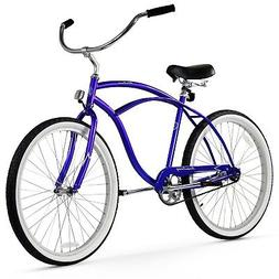 Firmstrong Urban Man Single Speed,   Royal Blue - Men's 26""