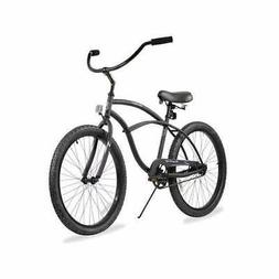 Firmstrong Urban Man Single Speed Beach Cruiser Bicycle, 24-