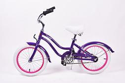 "16"" Venus Beach Cruiser Style Childrens Bicycle"