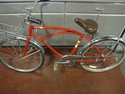 Vintage 1959 Murray Beach Cruiser Serial # R Bicycle Basket