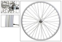 Wheel Master Front 26 x 1.75/2.125, Silver, Alloy, B/O, 36H,