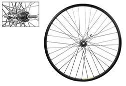 Wheel Rear 26 x 1.75 Black Alloy Cruiser, Shimano E110 Coast