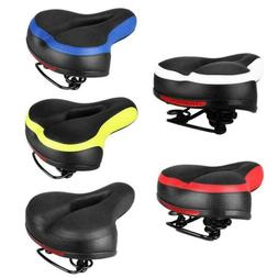 Wide Big Bum Bike Bicycle Gel Cushion Extra Comfort Sporty S