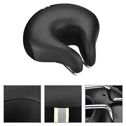 Cocoarm Wide Bike Seat, Ergonomic Most Comfortable U Shape N