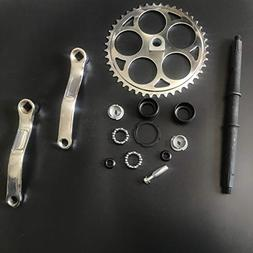 dolphin1986 44T Sprocket Wide Crank Assembly Kit -3pcs, for