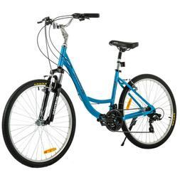 Women Beach Cruiser Bike Shimano 21 Speeds Girl's Bicycle Fr