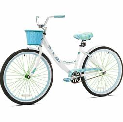 Womens Cruiser Bike Single Speed Bicycle Lightweight Beach C