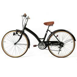 "Women's Bike Cruiser Bike 26"" Road Bike City Bicycle Comfort"