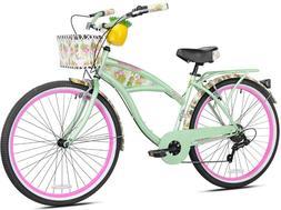 """Women's Margaritaville Cruiser Bike 26"""" Perfect Fit Frame Co"""