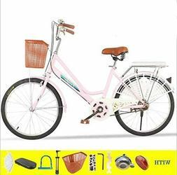 Womens Comfort Bikes Beach Cruiser Bike, 26-Inch Comfortable