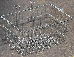 Fito Wood-Bottom Flat Aluminum Alloy Mounting Basket, Made i