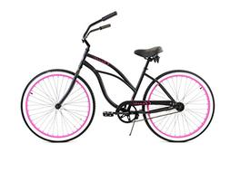Zycle Fix Women's Zf Bike-26 Single Speed Classic Beach Crui